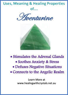 Aventurine - Metaphysical Healing Properties