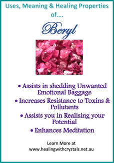 Beryl - Metaphysical Healing Properties