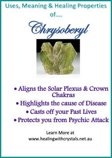 Chrysoberyl - Metaphysical Healing Properties