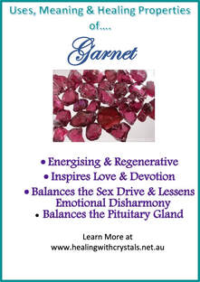 Garnet - Metaphysical Healing Properties