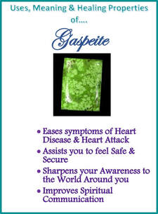 Gaspeite - Metaphysical Healing Properties
