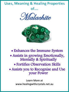 Malachite - Metaphysical Healing Properties