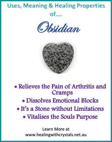 Obsidian - Metaphysical Healing Properties